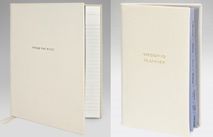 Smythson wedding planner notebook