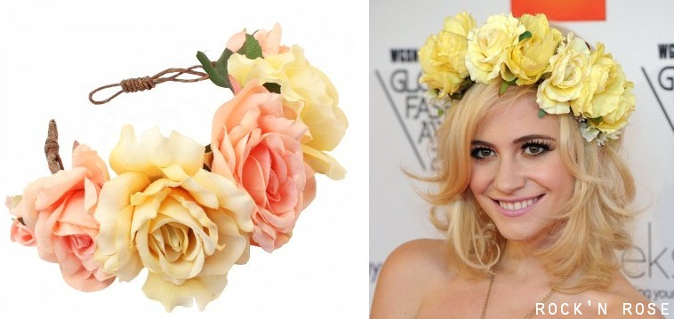 floral crowns by rock n rose
