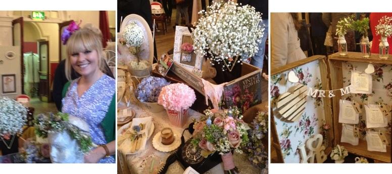 Flowers by Kirsty Vintage Wedding Fair, London