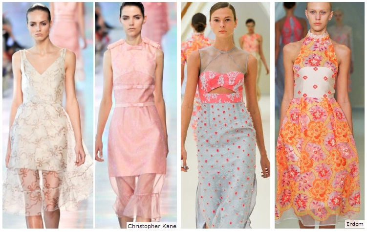 Spring 2013 Bridesmaid Looks