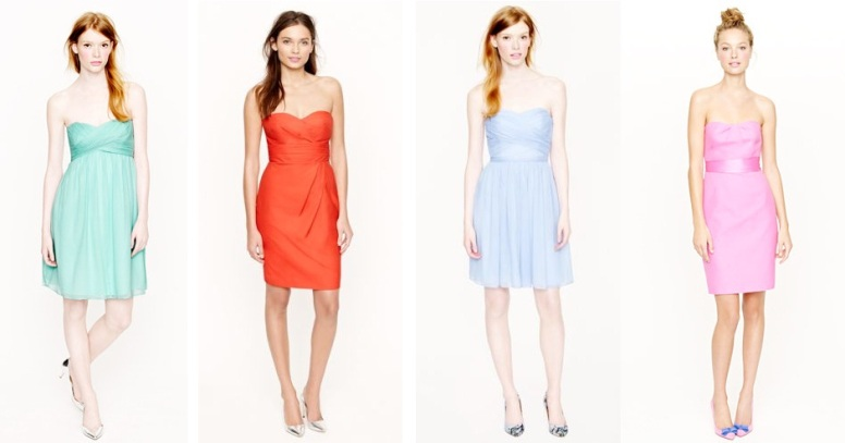 j crew bridesmaid dresses