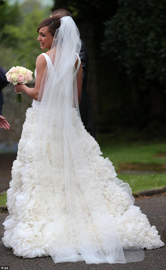 jessica ennis wedding dress