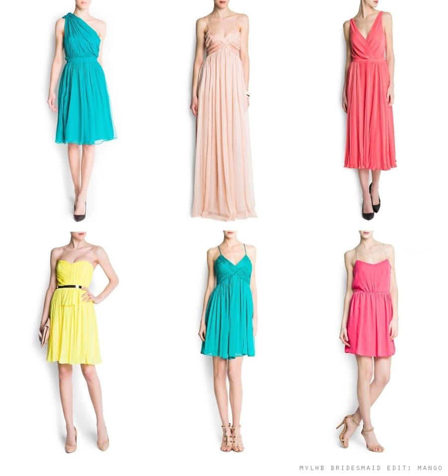 mango summer bridesdmaid dresses