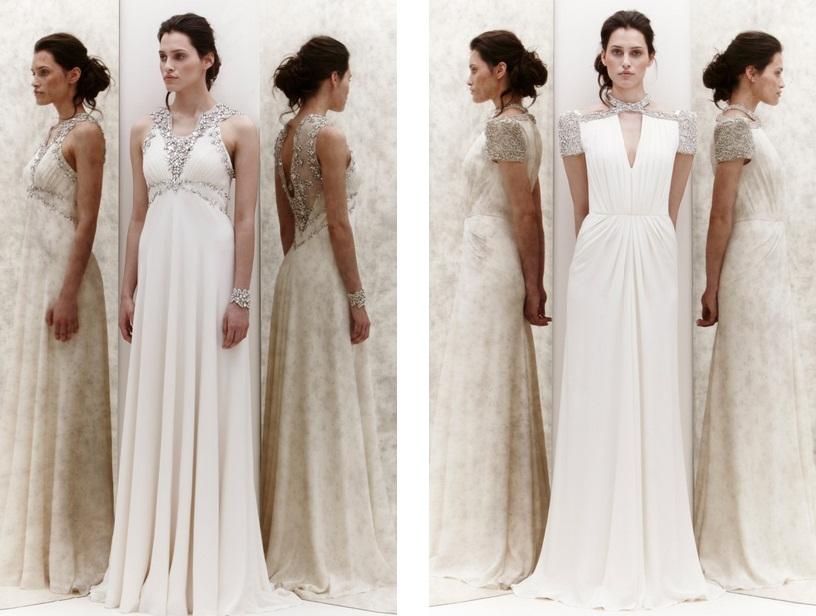 Jenny Packham's Winter Wedding Dress Collection