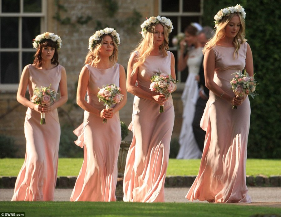 millie wedding bridesmaids