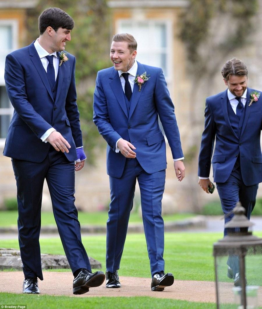 millie wedding groomsmen
