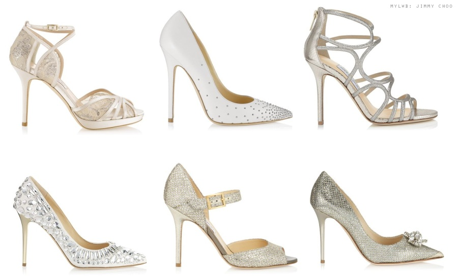 Jimmy Choo bridal shoe collection