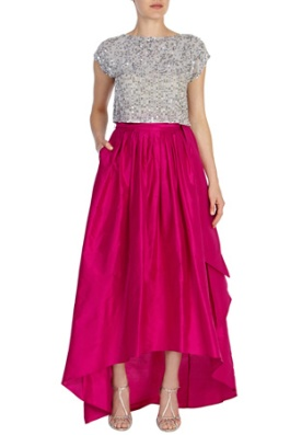 Alisa Skirt, £160 & Top, £85, Coast