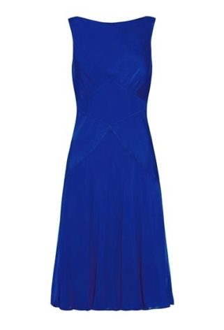 Alice Dress Electric Blue, Ghost, £132