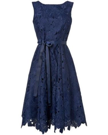 Fabia Embroidered Dress, Phase Eight, £99